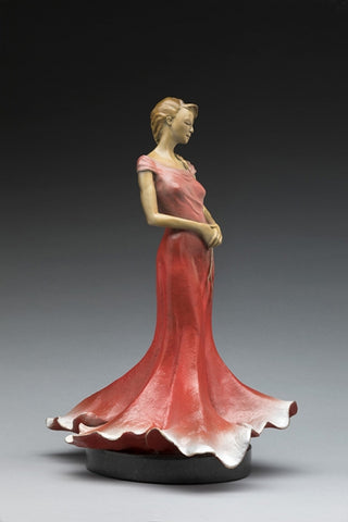 Belle of the Ball -  Sculpture by artist Phyllis Mantik deQuevedo