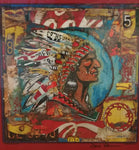 Rolled Chief Poster -  Print by artist Dave Newman