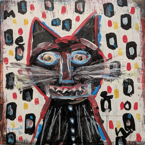 Cat - Acrylic Paintings by artist Frank Discussion