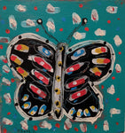 Butterfly - Acrylic Paintings by artist Frank Discussion