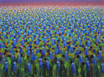 Texas Blue Bonnets - Oil Paintings by artist Kathleen Eaton