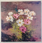 Cosmos Bouquet - Oil Paintings by artist John Horejs