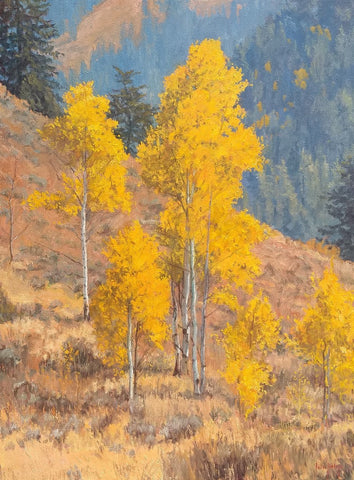 Autumn Serenity - Oil Paintings by artist John Horejs