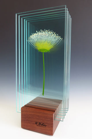 Stand By Me - Glass sculpture Sculpture by artist Ana Maria Botero