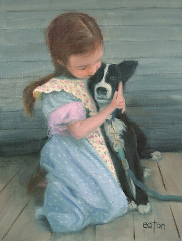 Best Friends I - Oil Paintings by artist Kathleen Eaton