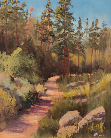 Near Lynx Lake, AZ - Oil Paintings by artist Mark White