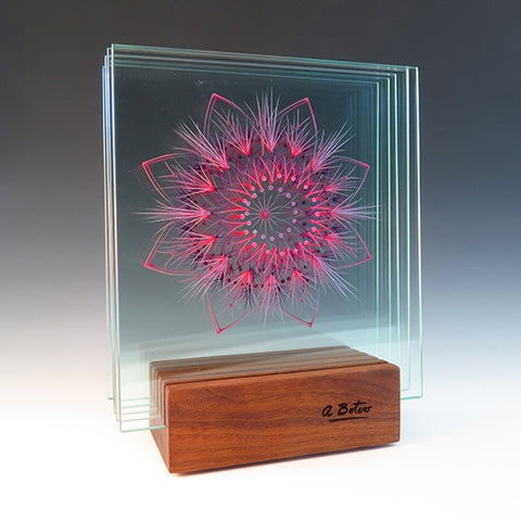 Timeless - Glass sculpture Sculpture by artist Ana Maria Botero