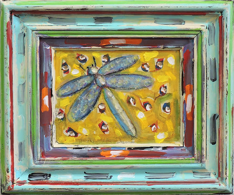 Dragonfly Series - Acrylic Paintings by artist Frank Discussion