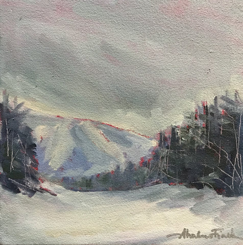 On the Slopes - Acrylic Paintings by artist Shalece Fiack
