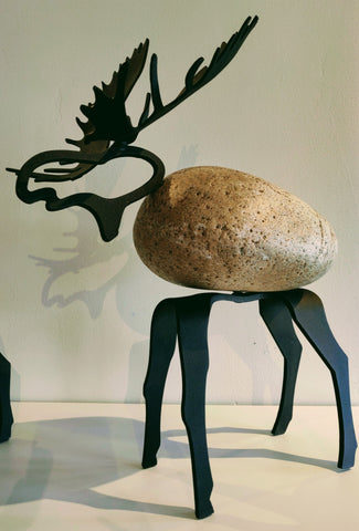 Malcolm Moose -  Sculpture by artist Charles Adams and Thomas Widhalm