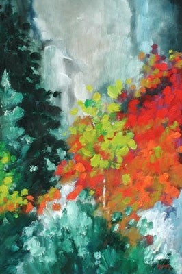 Sage in Bloom - Oil Paintings by artist Melinda Fellini