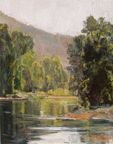 Wood River - Oil Paintings by artist John Horejs