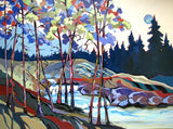 Upper Silver Creek - Acrylic Paintings by artist Carolee Clark