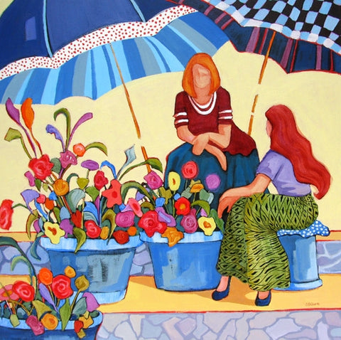 Sales are Bright - Acrylic Paintings by artist Carolee Clark
