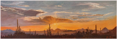 "John Horejs - ""Saguaro Sunset Colors"""
