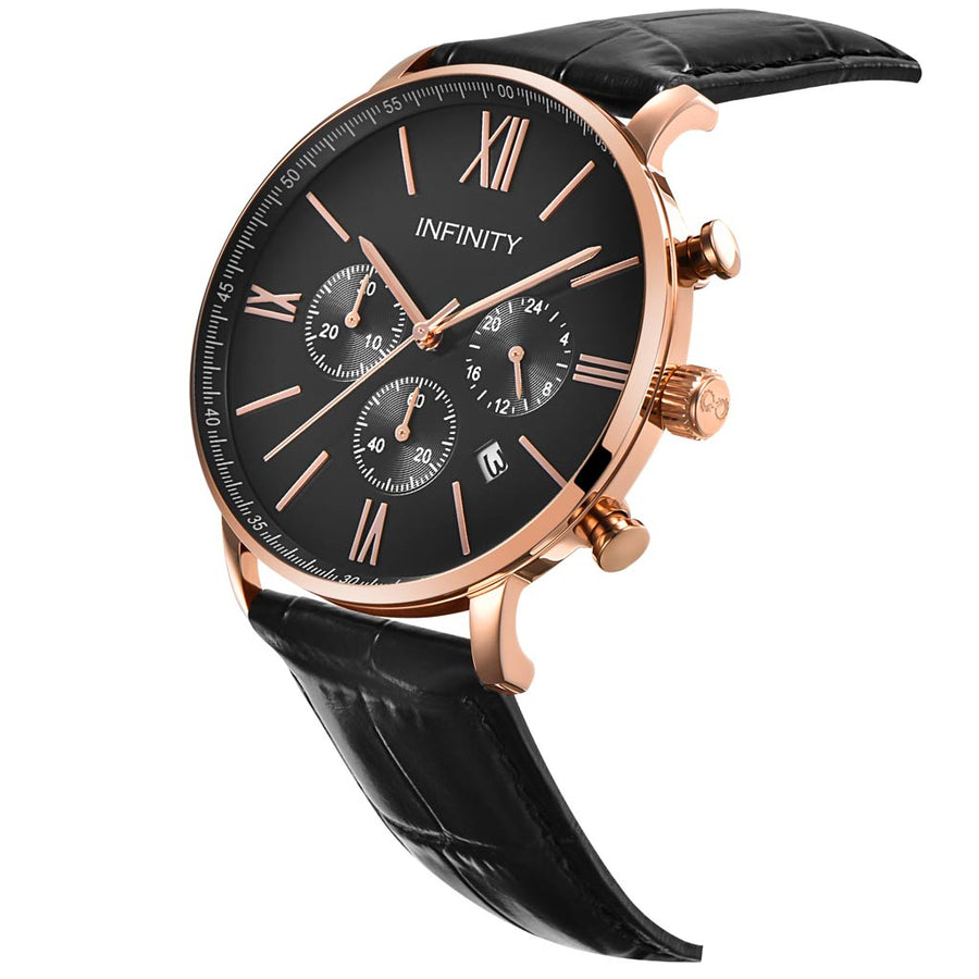 SP 07 ROSE GOLD + BLACK