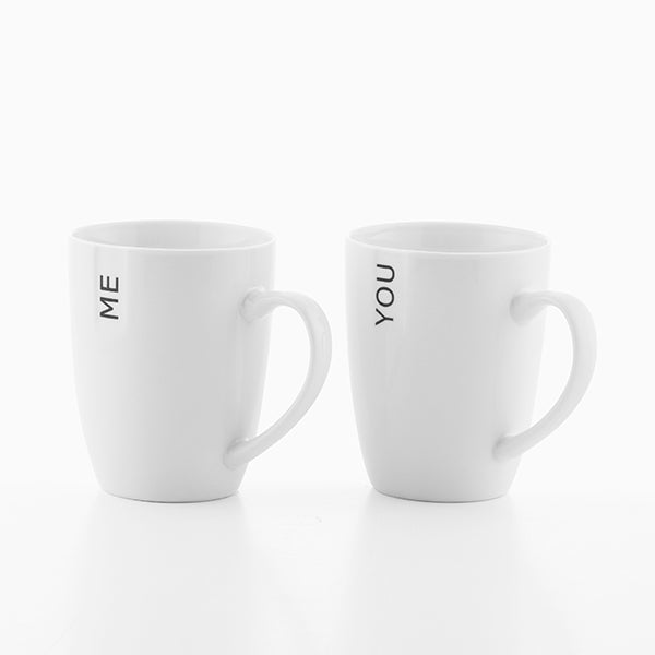 Tazas You & Me Romantic Items (Set de 2)