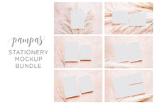 Load image into Gallery viewer, 50% OFF Pampas Stationery Mockup Bundle