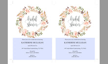 Load image into Gallery viewer, Floral Bridal Shower Invitation Instant Download Printable Editable Template DIY Bridal Shower Invite - Katherine