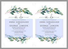 Load image into Gallery viewer, Printable Greenery Rustic Wedding Invitation Set Editable Template, DIY Instant Download Invites, Invitation Suite- Anna
