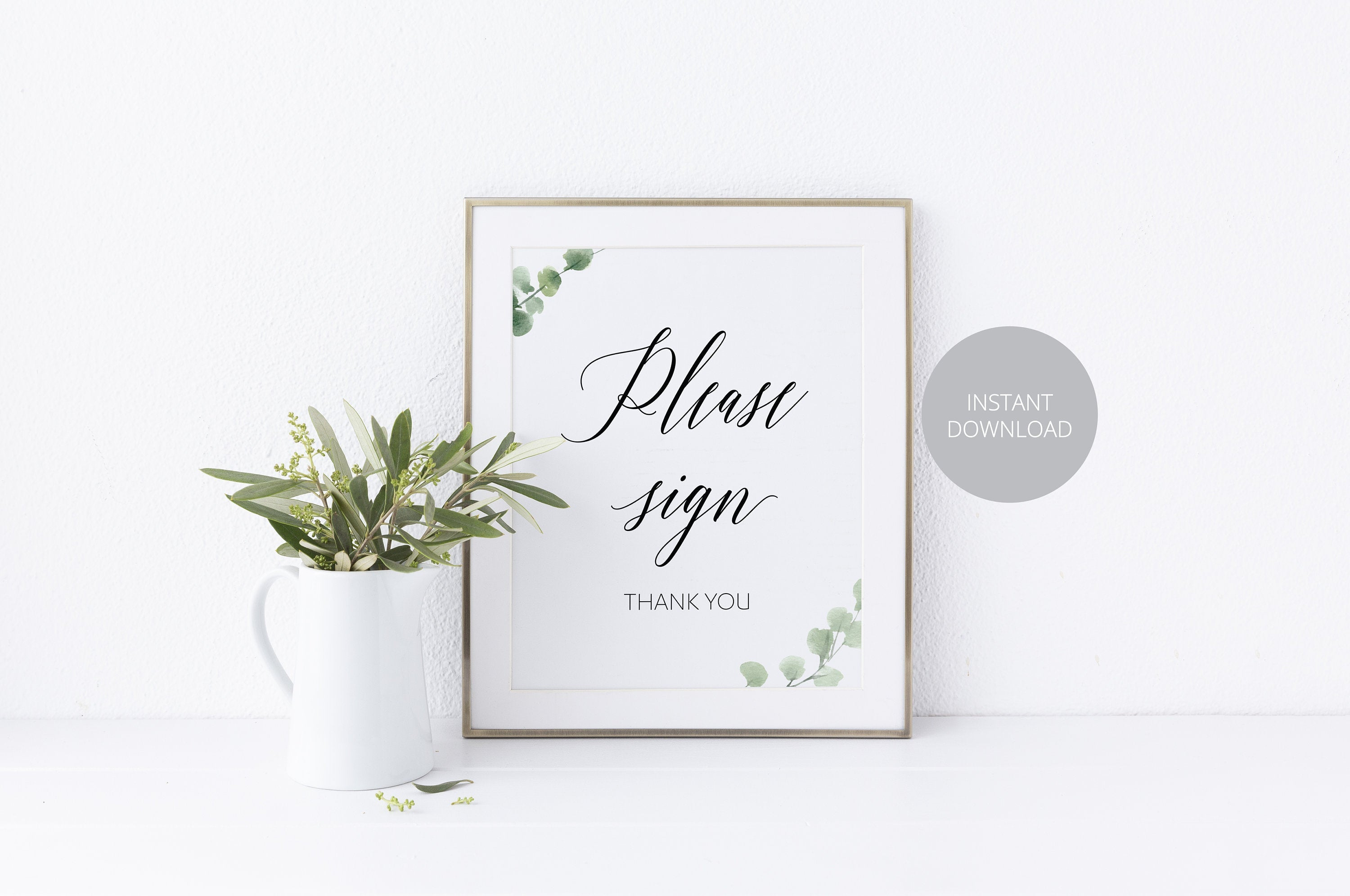Wedding Guestbook Sign, Please Sign Our Guest Book, Rustic,Instant Download,Wedding Signage,Wedding Decor, Printable Reception Sign