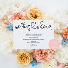 Load image into Gallery viewer, Rustic Wedding Shower Invitation Instant Download Printable Editable Template DIY Bridal Shower Invite -JESSICA