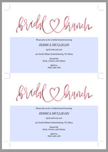 Load image into Gallery viewer, Rose Gold Bridal Brunch Shower Invitation Instant Download Printable Editable Template DIY Bridal Shower Invite - JESSICA