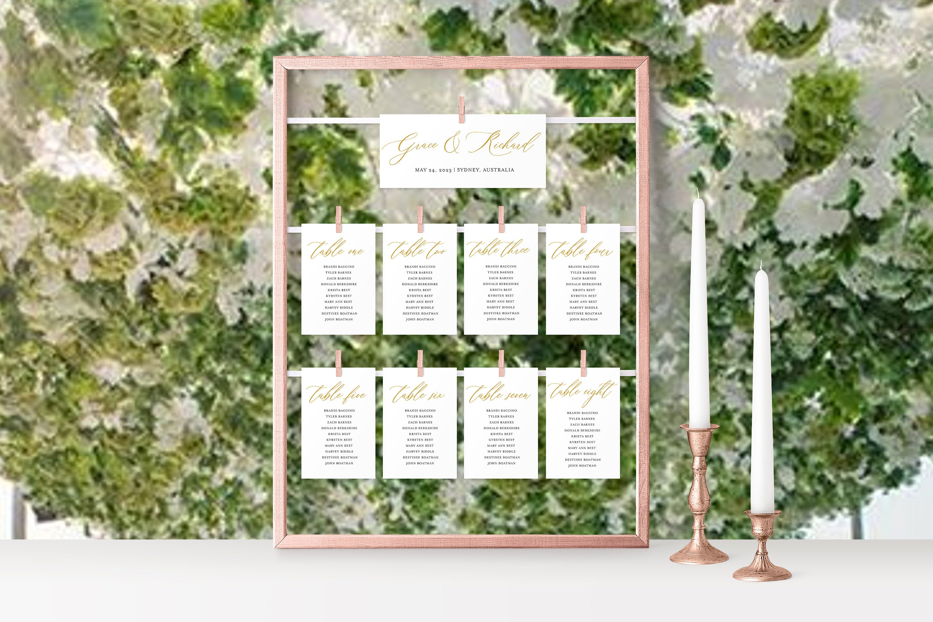 Wedding Seating Chart Template Printable Floral Seating Sign Seating Cards Editable Text INSTANT DOWNLOAD - Grace