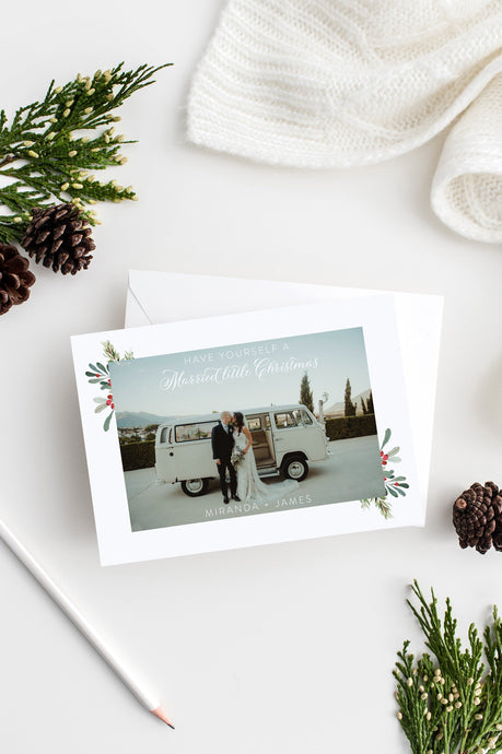 Christmas card templates for photographers - SELENA