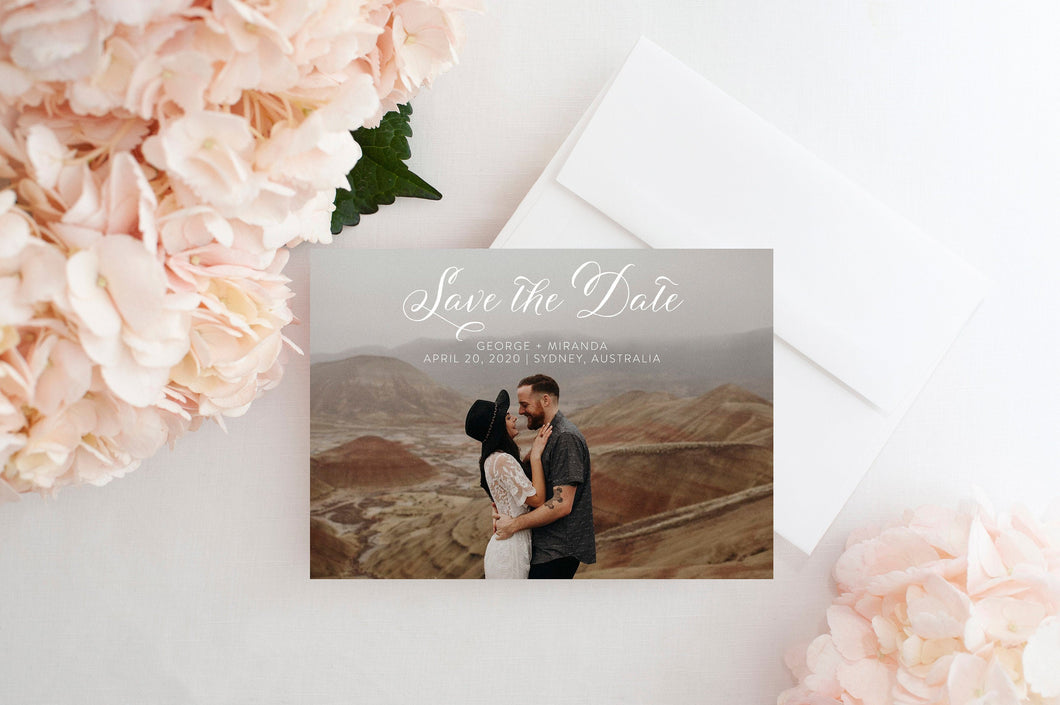 Save the Date Photo Printed Save the Date Card Photo Save the Dates Save the Date with Pictures