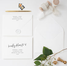 Load image into Gallery viewer, Wedding Envelope Template, Address Envelope Template, DIY Wedding Address Envelope, Printable Envelope - MIRA