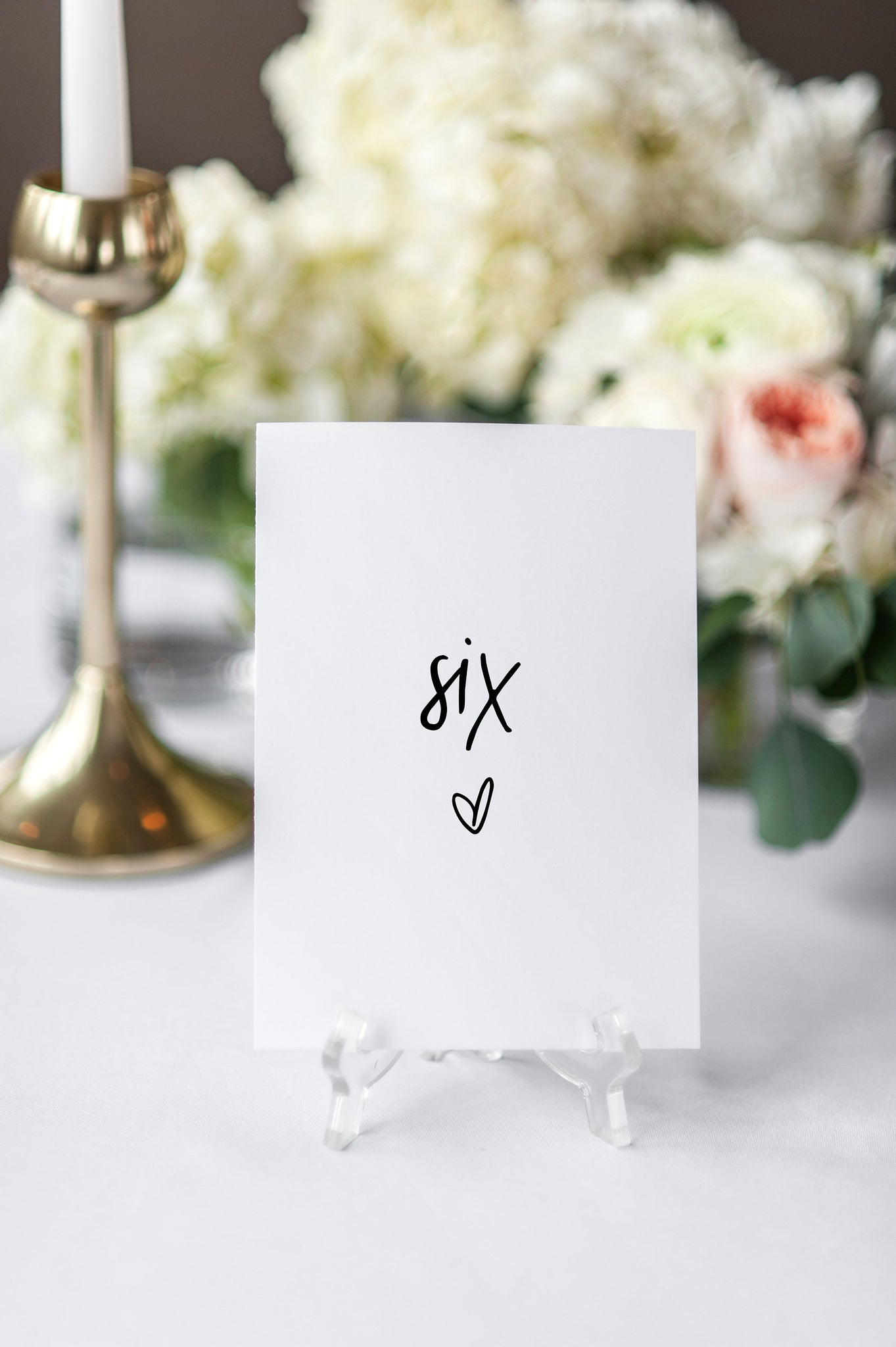 Modern Wedding Table Number Template Minimalist Table Numbers Table Savvy Paper Co
