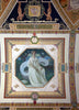 [South Corridor Second floor. Mural depicting one of the three graces Aglaia (Husbandry) by Frank Weston Benson. Library of Congress Thomas Jefferson Building Washington D.C.]