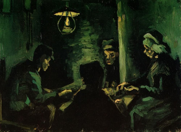 Study for The Potato Eaters