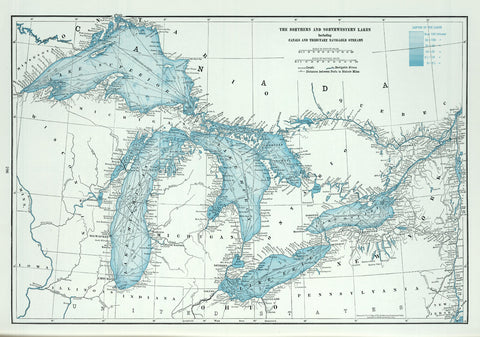 Great Lakes including Canals and Tributary Navigable Streams.