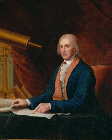 David Rittenhouse by Charles Willson Peale