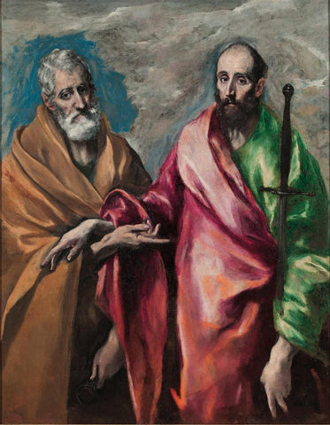 Saint Peter and Saint Paul (1600) by El Greco