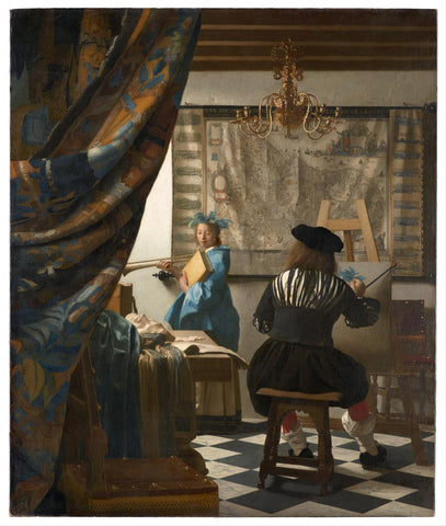 The Art of Painting (1666) by Johannes Vermeer