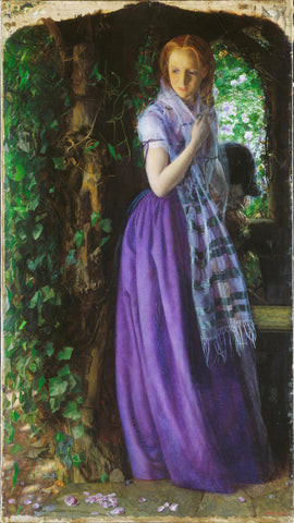 April Love by Arthur Hughes