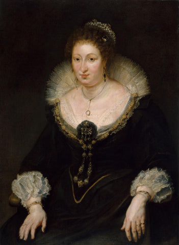 Lady Alethea Talbot  Countess of Arundel by Peter Paulus Rubens