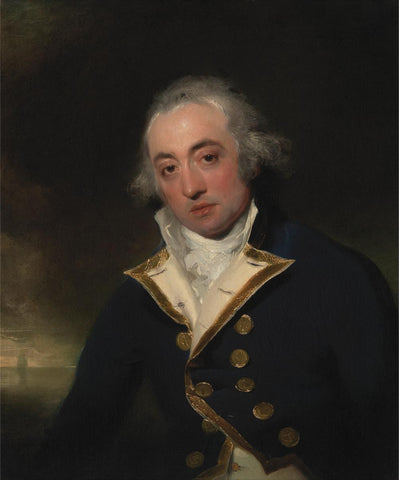 Admiral John Markham by Sir Thomas Lawrence