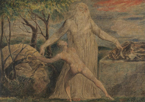 Abraham and Isaac by William Blake