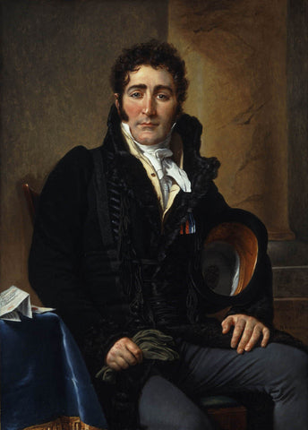 Portrait of the Comte de Turenne (1868) by Jacques-Louis David