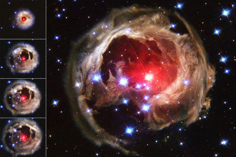 "Flash from Star V838 Monocerotis ""Echoes"" Through Space"