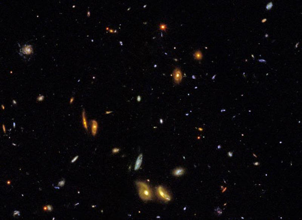 Sample Frame from IMAX Film  Hubble: Galaxies Across Space and Time