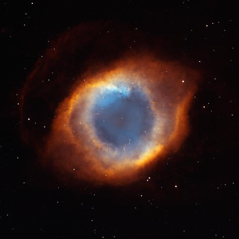 Iridescent Glory of Nearby Helix Nebula