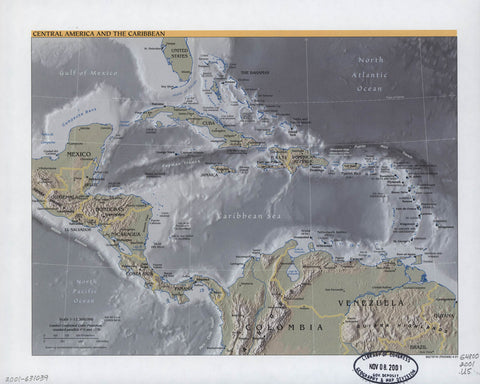 Central America and the Caribbean.