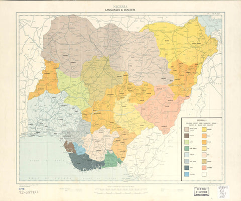 Nigeria languages & dialects