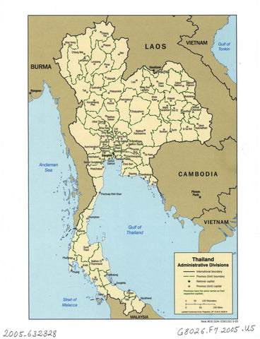 Thailand administrative divisions.