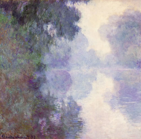 The Seine at Giverny, morning mist